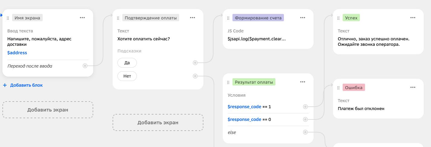 Обработка кодов ответа